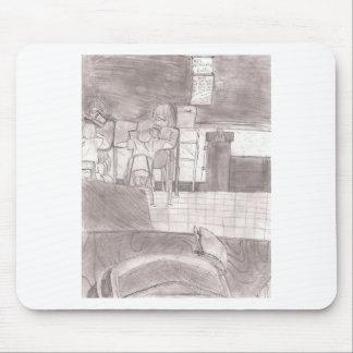 Victor Jones drawings Mouse Pad