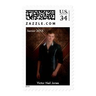 Victor Jones senior pic Postage Stamp