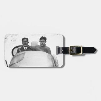 Victor Rigal at the 1914 French Grand Prix Luggage Tags