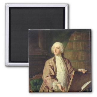 Victor Riquetti , Marquis of Mirabeau, 1743 2 Inch Square Magnet