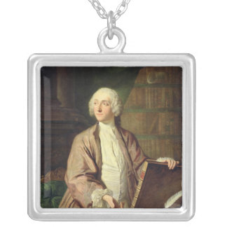 Victor Riquetti , Marquis of Mirabeau, 1743 Silver Plated Necklace