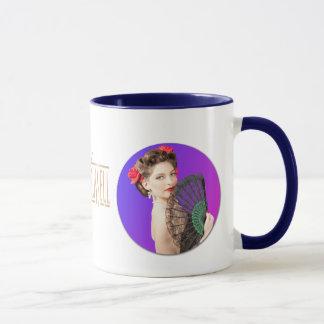 Victor Russell Pinup Mug - Sarah