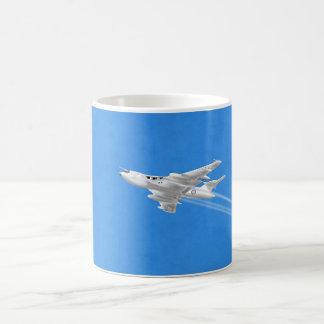 Victor V Bomber Classic White Coffee Mug