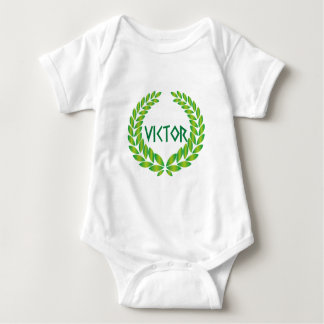 Victor winner more winner baby bodysuit