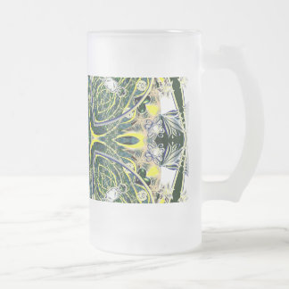 Victoria 004 frosted glass beer mug