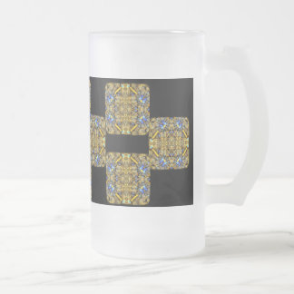 Victoria 010 frosted glass beer mug