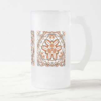 Victoria 017 frosted glass beer mug