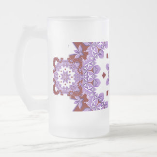 Victoria 026 frosted glass beer mug