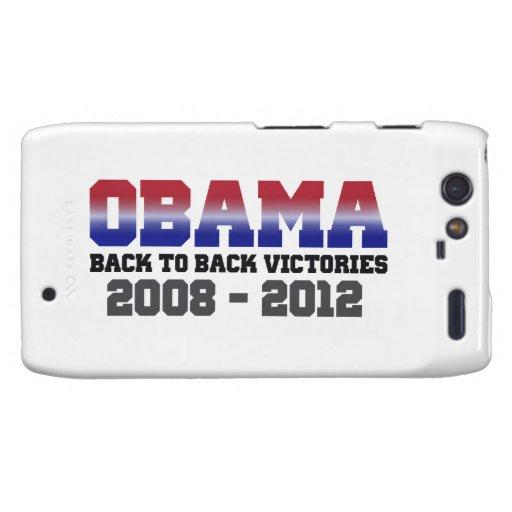 Victoria 2008 - 2012 de Obama Motorola Droid RAZR Carcasas