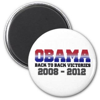 Victoria 2008 - 2012 de Obama Imanes De Nevera