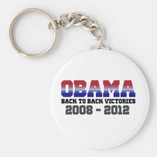 Victoria 2008 - 2012 de Obama Llaveros Personalizados