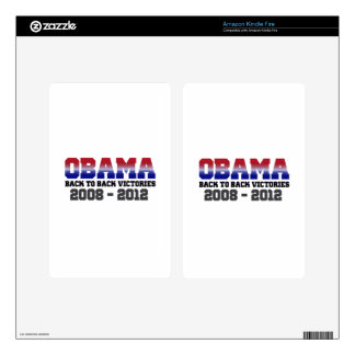 Victoria 2008 - 2012 de Obama Skin Para Kindle Fire
