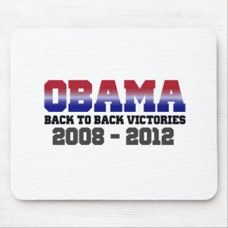 Victoria 2008 - 2012 de Obama Alfombrillas De Ratón