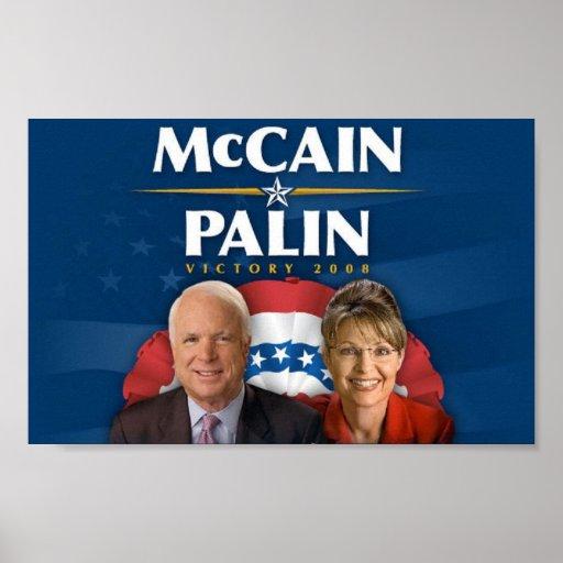 Victoria 2008 de McCain-Palin Impresiones