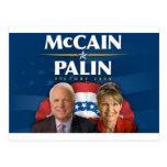 Victoria 2008 de McCain-Palin Postal