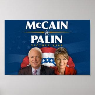 Victoria 2008 de McCain-Palin Póster