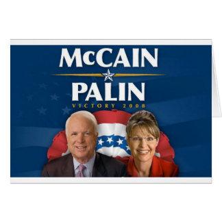 Victoria 2008 de McCain-Palin Felicitacion