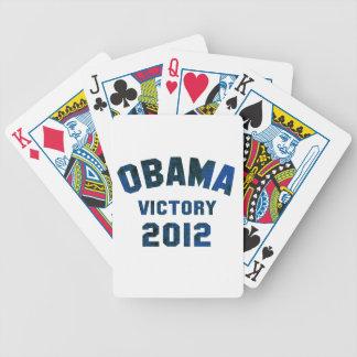 Victoria 2012 de Barack Obama Baraja De Cartas