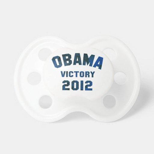 Victoria 2012 de Barack Obama Chupete