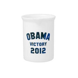 Victoria 2012 de Barack Obama Jarra Para Bebida