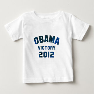 Victoria 2012 de Barack Obama Playera De Bebé