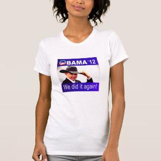 Victoria 2012 de Barack Obama Playeras