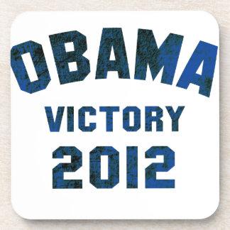 Victoria 2012 de Barack Obama Posavasos De Bebidas
