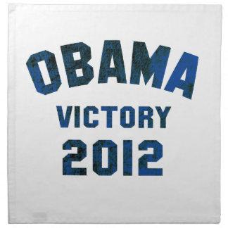 Victoria 2012 de Barack Obama Servilleta
