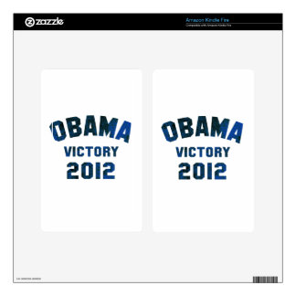 Victoria 2012 de Barack Obama Skin Para Kindle Fire