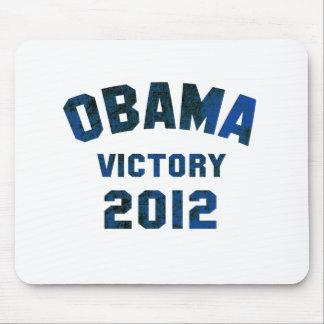 Victoria 2012 de Barack Obama Tapete De Ratón