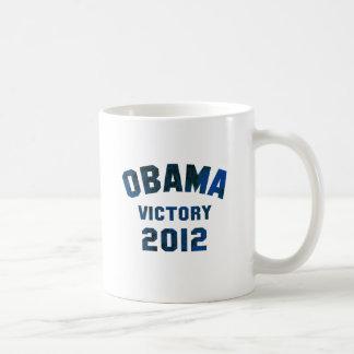 Victoria 2012 de Barack Obama Taza Clásica