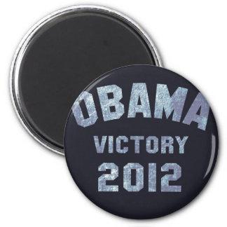 Victoria 2012 de Obama Imán Redondo 5 Cm