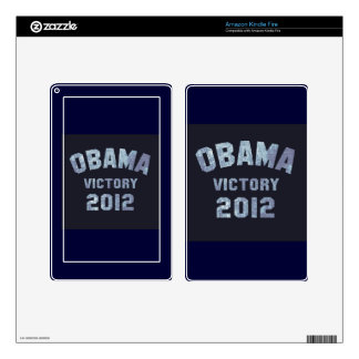 Victoria 2012 de Obama Kindle Fire Pegatina Skin
