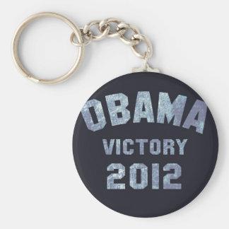 Victoria 2012 de Obama Llavero Redondo Tipo Pin