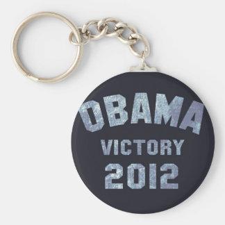 Victoria 2012 de Obama Llaveros Personalizados