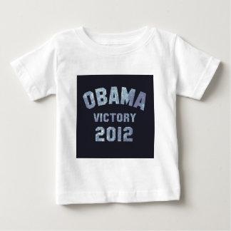 Victoria 2012 de Obama Playera De Bebé