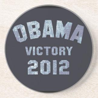 Victoria 2012 de Obama Posavasos Personalizados