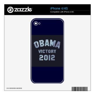 Victoria 2012 de Obama Skin Para El iPhone 4S