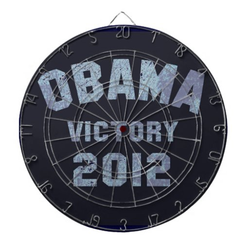 Victoria 2012 de Obama Tabla Dardos