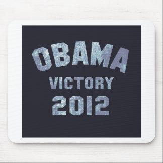 Victoria 2012 de Obama Alfombrilla De Ratón