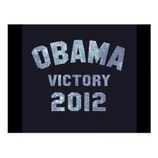 Victoria 2012 de Obama Tarjeta Postal
