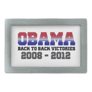 Victoria adosada mutuamente 2008 - 2012 de Obama Hebillas De Cinturon Rectangulares
