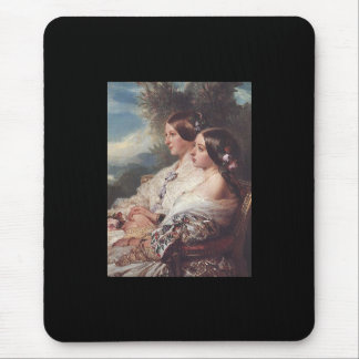 Victoria and her cousin, 1852 mouse pad