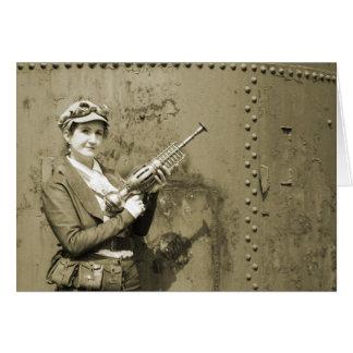 Victoria and Plasma Carbine Card