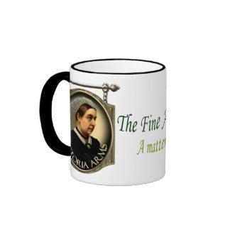 Victoria Arms Pub Sign Ringer Coffee Mug