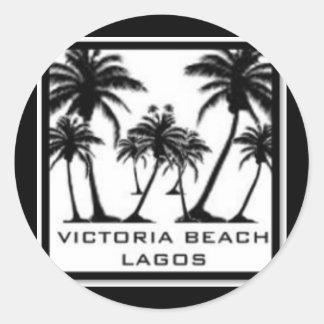 Victoria Beach Products Classic Round Sticker