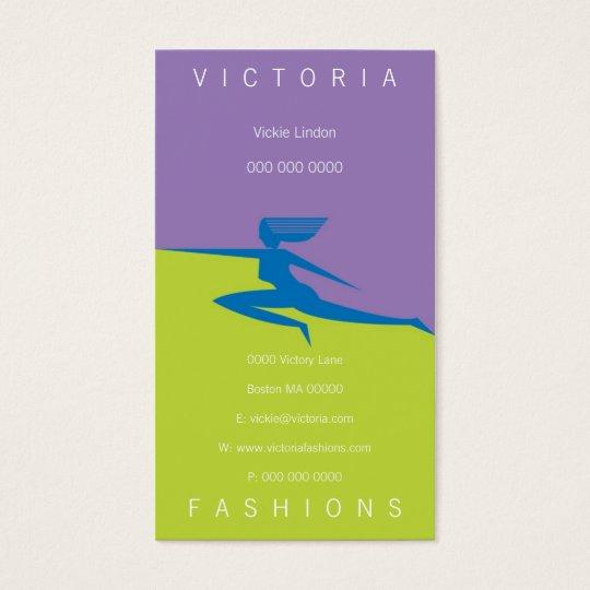 Victoria-Blue Business Card
