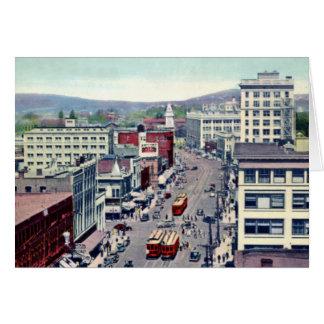 Victoria British Columbia Canada Douglas Street Card