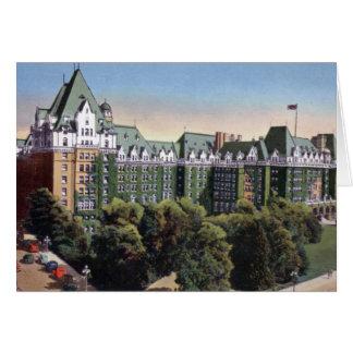 Victoria British Columbia Canada Empress Hotel Card