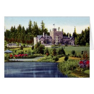 Victoria British Columbia Canada Hartley Castle Card